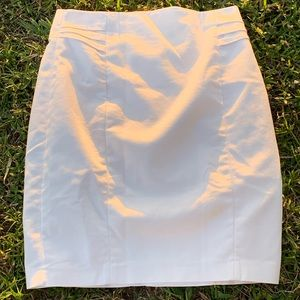 EXPRESS WHITE PENCIL SKIRT Sz 4